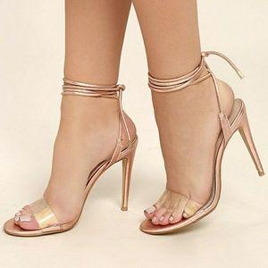 381daef2962 Steve Madden Shoes - Steve Madden Lyla wrap heels rope black suede open